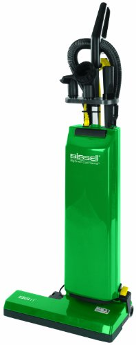 Bissell BGUPRO18T BigGreen Commercial Bagged Upright Vacuum, 5.83L Bag Capacity, 18' Cleaning Path, Green