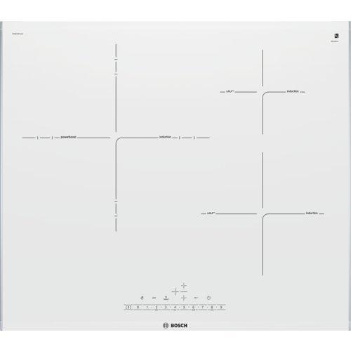 Bosch Serie 6 PID672FC1E Integrado Con - Placa (Integrado, Con placa de inducción, Vidrio y cerámica, Gris, Metálico, LED, Tocar)