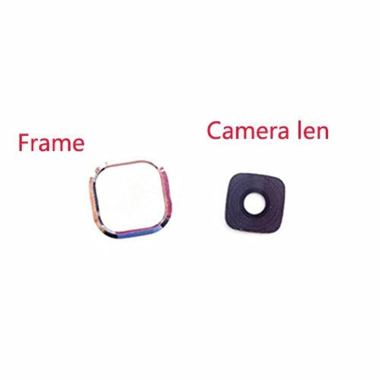 Rear Camera Glass Lens Cover Ring Repair for Samsung Galaxy J7 J7008 J700F J700 (1X Glass Lens+Frame)