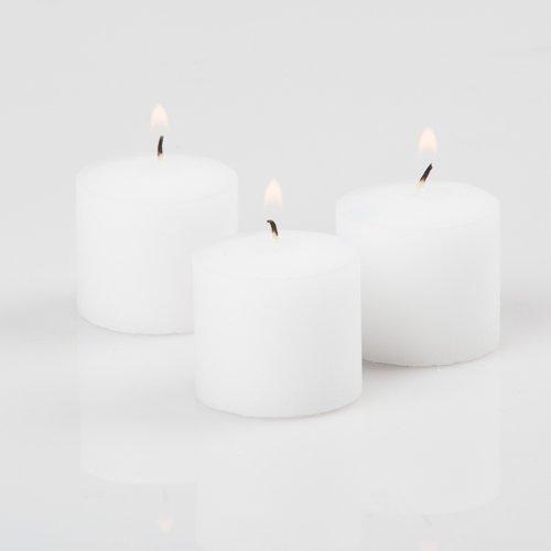 Richland Votive Candles White Unscented 10 Hour Burn Set of 288
