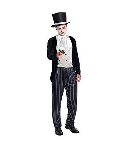 Hipex Collection Disfraz de Cosplay para hombres, Halloween, Carnaval, Fiestas,...