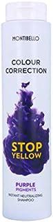 Montibello Colour Correction Stop Champú 300 ml (Neutralizador+Pigmento Lila) Yellow Purple 300ML 300