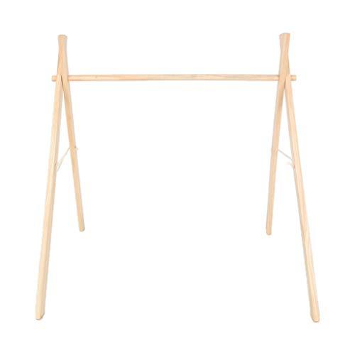 lyqdxd Baby Gym Nordic Simple Rack de Madera para Ejercicios Decoraciones...