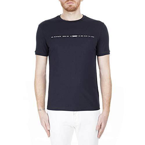 EMPORIO ARMANI Tops y Camisetas Hommes Marino - XXL - Camisetas Manga Corta