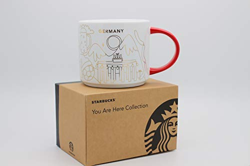 Starbucks Germany You Are Here Collection Coffee Mug Christmas Edition