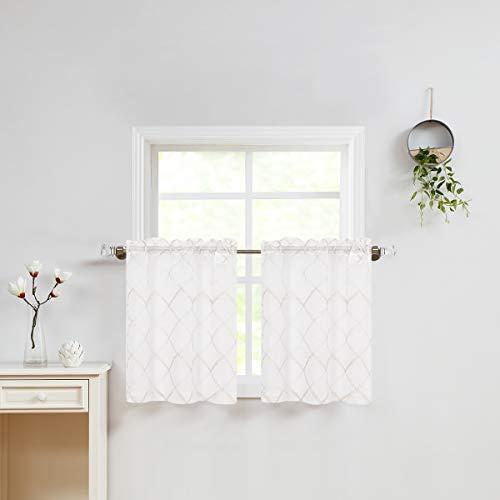 cortina corta para ventana de la marca Variegatex