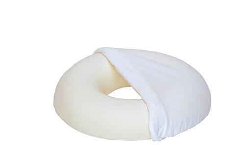 Sissel Sitzkissen Sit Ring rund, inkl. Bezug, weiß