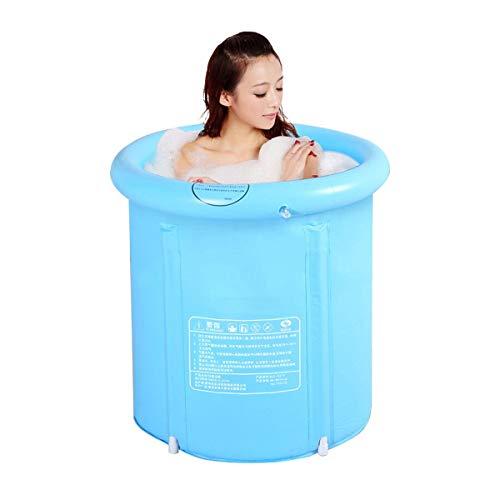 Soaking bath /& Ba/ñera para Adultos Familia de ba/ñera Inflable Plegable No Cubierta de ba/ñera PVC Pl/ástico Doble Drenaje Ba/ñera Inflable Piscina Infantil Size : 210 * 150 * 75cm
