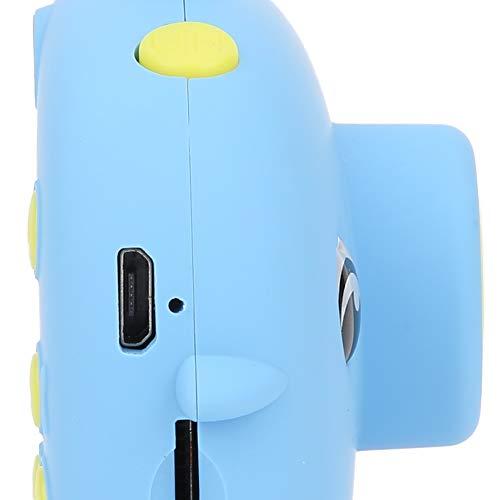 QIRG Cámara para niños, Cámara Deportiva para niños Interfaz USB Videocámara Deportiva Cámara Digital para niños de Dibujos Animados Cámara portátil para niños, para Viajes