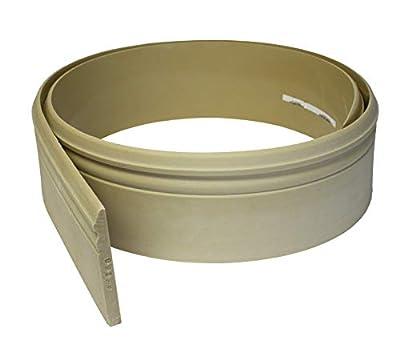 """Flexible Moulding - Flexible Base Moulding - B5180-1/2"""" X 5-1/4"""" - 12' Length - Flexible Trim"""
