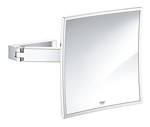 Grohe GRO-40808000 40808000-Espejo Cosmético, Cromo (Chrome), Large