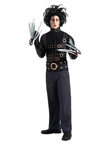 Costume Edward mani di forbice uomo Taglia Unica