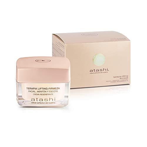 Atashi Firmeza Y Luminosidad - Terapia Lifting Firmeza Facial, Mentón Y Escote. Regenera, Ilumina Y...