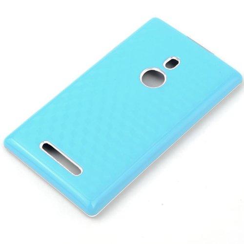 Katinkas Hybrid Cover for Nokia Lumia 925, Fiber, White/Blue