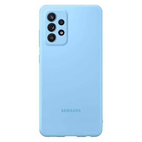 Samsung Galaxy A52 5G Silicona Cover - Azul