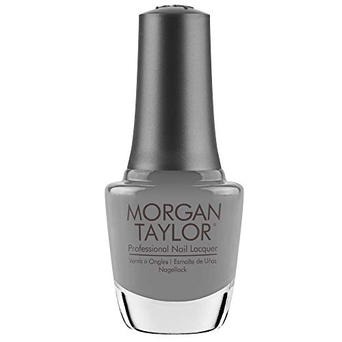 Morgan Taylor Vernis Gel Let There Be Moonlight Soft Gray Crème