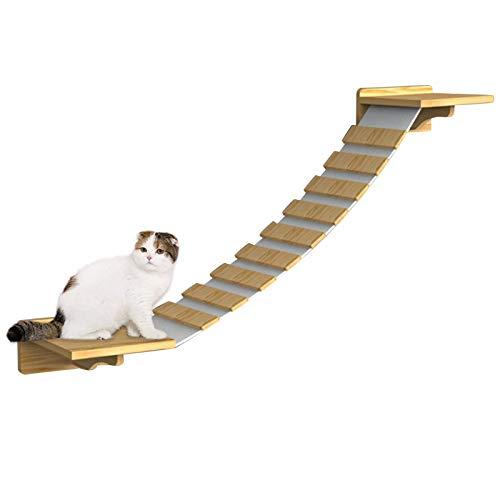 Peldaños De Escalera Para Gatos - Tablero De Plataforma De Madera Para Gatos Con Estantes Para Escalones De Escalada Pet Cat Montaje En Pared Escalera Estante Para Subir Pasarela Salón Centros