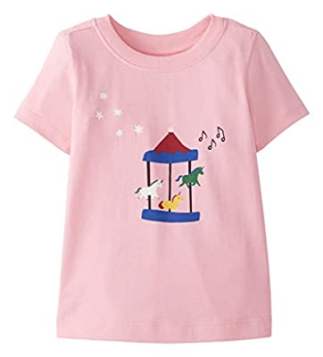 Hanna Andersson Play Tee Happy Pink - 70