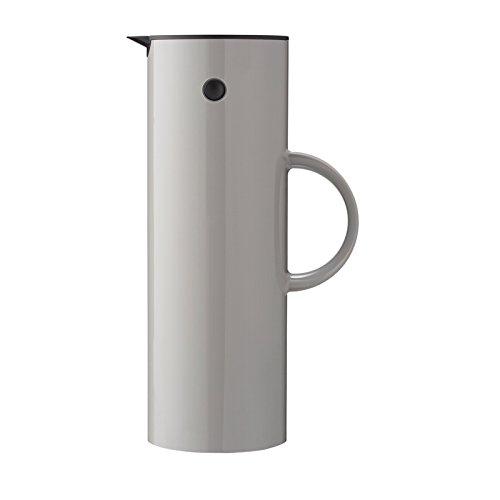 Stelton EM 77 Isolierkanne, Kunststoff, Grau, 1 Liter