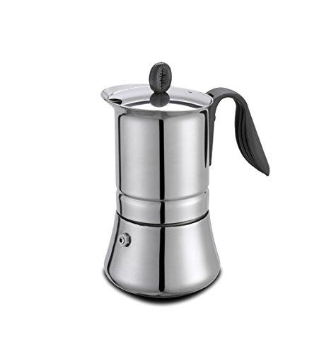 G.A.T. 113204 Espressokocher, Aluminum