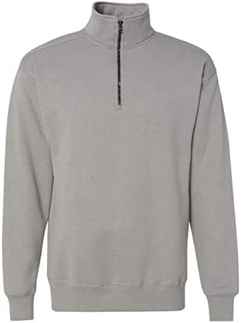 Hanes Men's Nano Quarter-Zip Fleece Jacket
