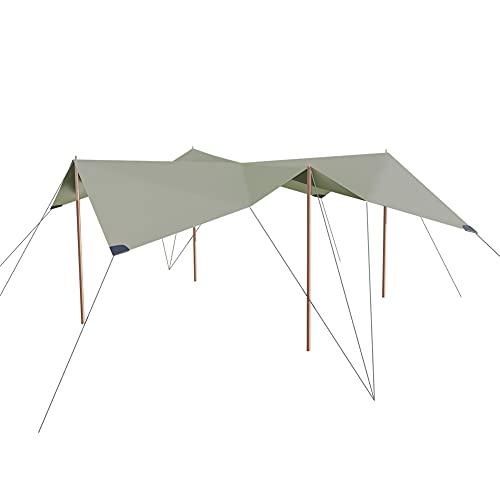 [ タトンカ ] Tatonka タープ Tarp 1 TC 425×445cm ポリコットン 撥水 遮光 2465 サンドベージュ Sand Beige (321) キャンプ アウトドア テント [並行輸入品]