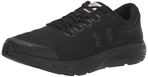 Under Armour Men's Charged Bandit 5 Running Shoe, Black (002)/Black, 10.5