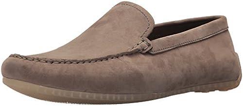 CLARKS Men& 039;s Reazor Edge Driving Style Loafer, Sage Nubuck, 10 Medium US