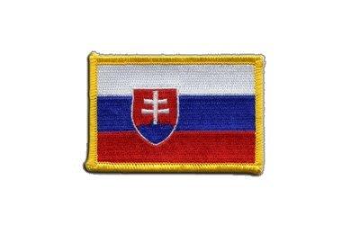 Aufnäher Patch Flagge Slowakei - 8 x 6 cm