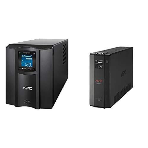 APC 1500VA Smart UPS with SmartConnect & UPS, 1500VA UPS Battery...