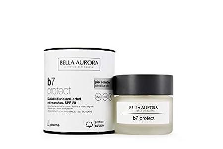 Bella Aurora B7 Crema Facial Cuidado Diario Anti-Edad y Anti-Manchas SPF 20