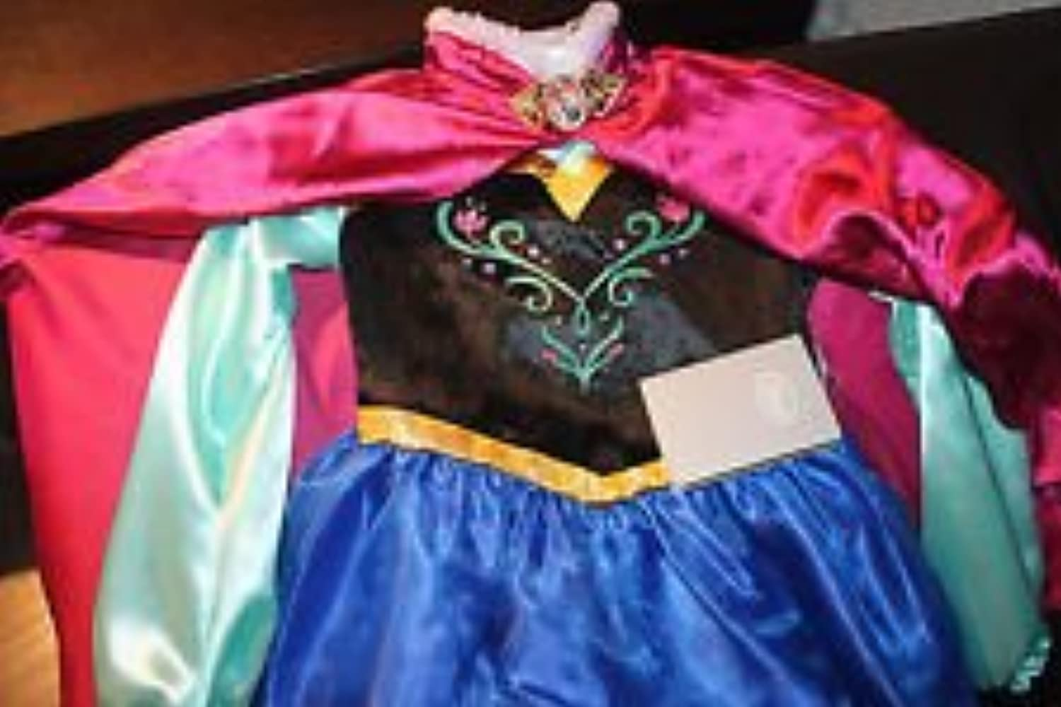 DISNEY STORE FROZEN ANNA COSTUME DRESSING UP OUTFIT FANCY DRESS  3  Up to 98cm