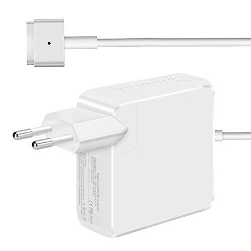 YWCKING Chargeur Macbook Pro 60W Compatible avec MacBook Pro 11 Pouces et 13 Pouces 2012 2013 2014 2015, 60W Chargeur MagSafe 2 pour MacBook Pro Retina A1425, A1435, A1502, A1465 et Plus Modèles Mac