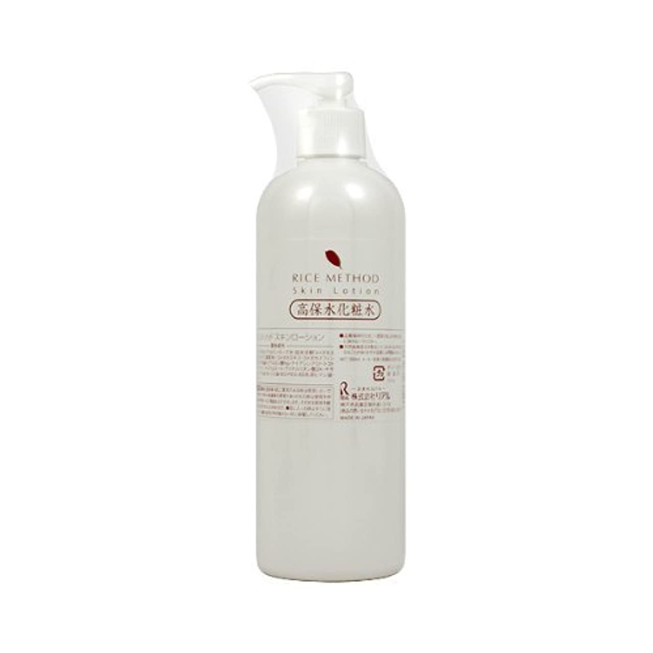 鹿ストローク化学薬品ライスメソッド スキンローション(高保湿化粧水) 380ml