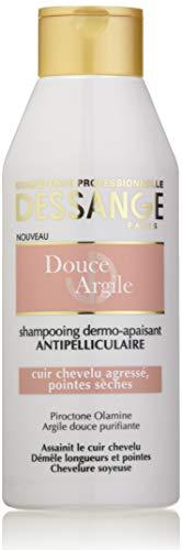 petit un compact DESSANGE – Shampooing Dermo-Apaisant Douce Argile Cuir chevelu agressif ou extrémité sèche – 250 ml.