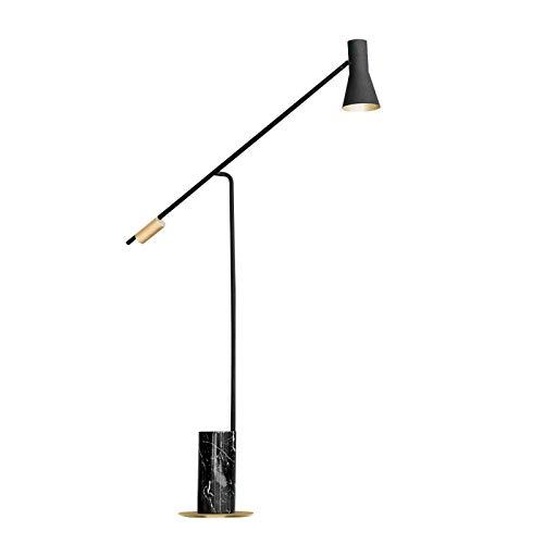 Lámpara LED pie, Base de mármol Creativo Moderno. Sala de Estar Creativa Art Dormitorio de Noche Mesa Nivel de energía de la luz de Lectura de protecció