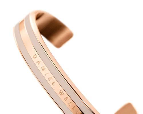 Daniel Wellington Classic Bracelet, Desert Sand Enamel, Desert Sand/Rose Gold, Medium (DW00400011)