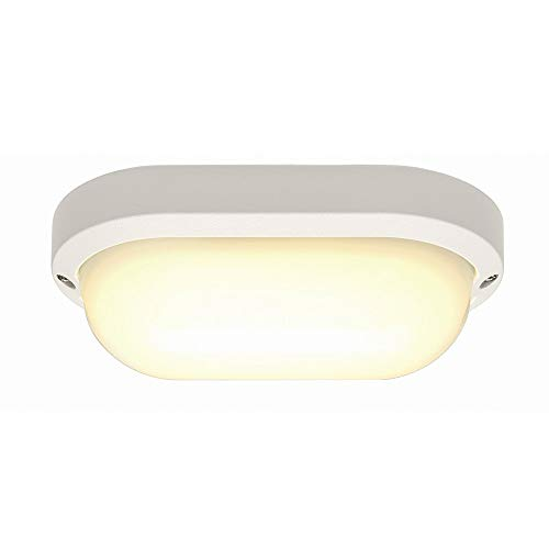 SLV TERANG 2 XL Outdoor-Lampe Aluminium/Kunststoff PC Weiß Lampe außen, Aussen-Lampe