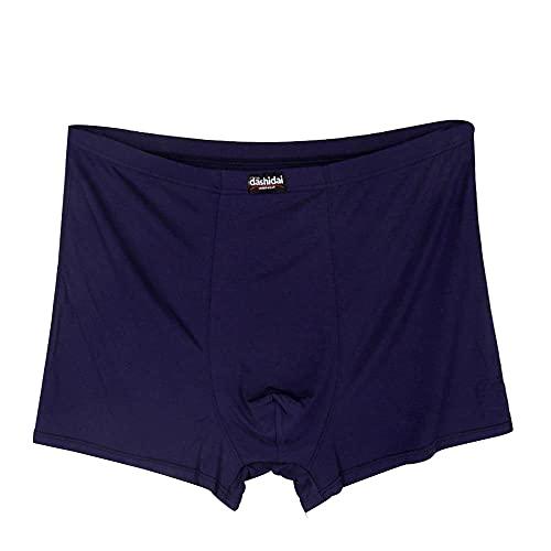 SADCK Herren Baumwolle Trunks 2er Pack Bequeme Boxershorts , Stretchy Soft Fitted Boxerhose Unterwäsche Multi-Colored- 12XL (185-200 kg)