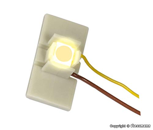 Viessmann 6046 - LED für Etageninnenbeleuchtung, 10 Stück, warmweiß