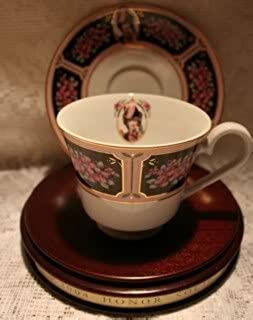 BEA 2004 AVON MRS P. F. E. ALBEE HONOR SOCIETY CUP AND SAUCER