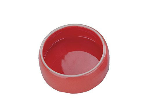 Nobby Keramik Futtertrog rot 250 ml