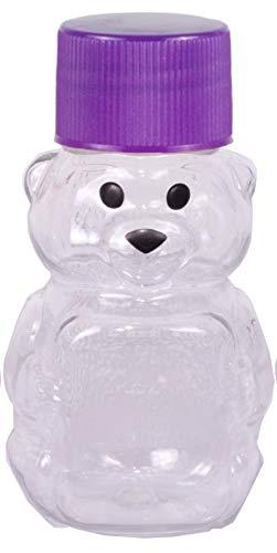 RETROPAK PB06W24RP Panel Bear, 2-Ounce, Clear… (Purple)