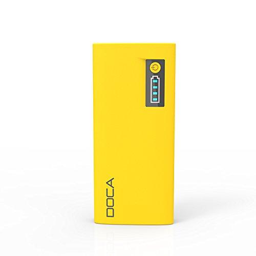 DOCA d566 Caricabatterie Portatile per Smartphone, 13000 mAh