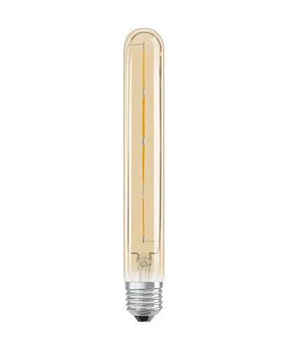Osram LED Vintage Edition 1906 Lampe, in Röhrenform mit E27-Sockel, nicht dimmbar, 5 W = 35 W, Klar, Warmweiß - 2000 Kelvin, 1er-Pack