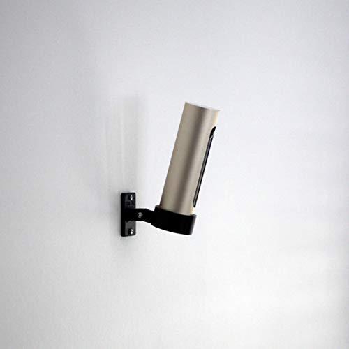 GEOLEVEL Indoor Wandhalterung passend für Netatmo Welcome - professioneller 3D-Druck - einfache Montage an der Wand mit Dieser Halterung für die Smarte Alarmanlage und Überwachungskamera