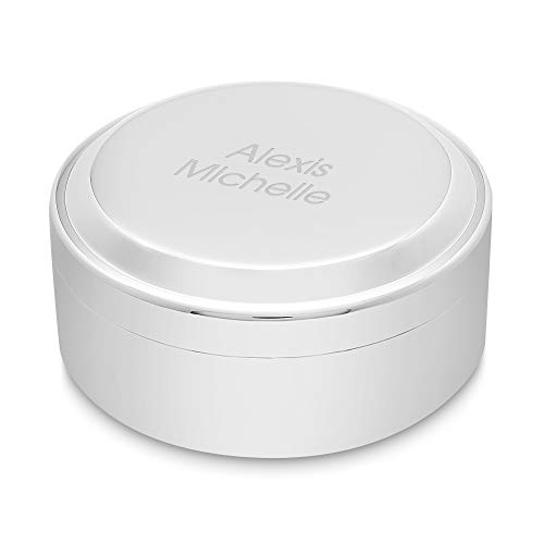 Things Remembered Personalized Round Keepsake Box with Engraving Included