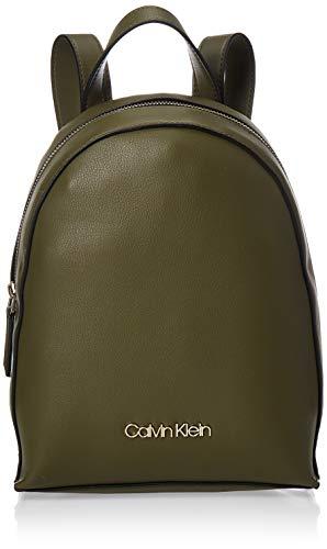 Calvin Klein Damen Ck Must Psp20 Sml Backpack Tote, Grün (Drk Olive), 13x40x30 Centimeters