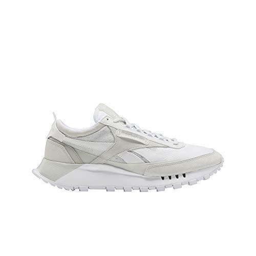 Reebok unisex-adult Classic Legacy Sneaker white/true grey/skull grey 10.5 medium US