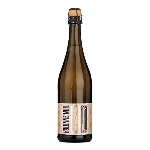 Kolonne Null - Alkoholfreier Sekt (1 x 0,75 L) – Rosé Jahrgang 2018